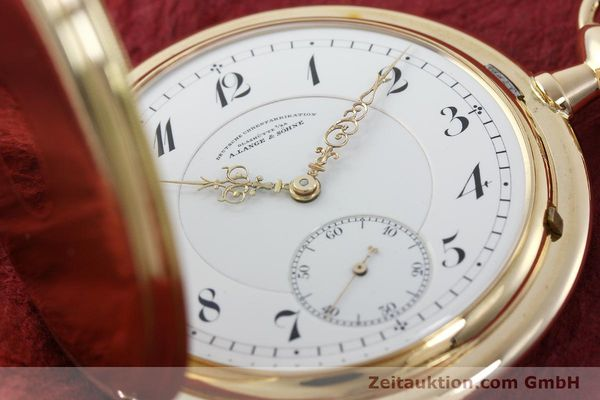 Used luxury watch A. Lange & Söhne DUF 14 ct yellow gold manual winding Kal. 43  | 151245 02