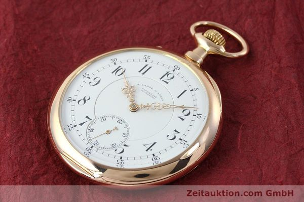 Used luxury watch A. Lange & Söhne ALS Taschenuhr 18 ct red gold manual winding Kal. 45  | 151247 01
