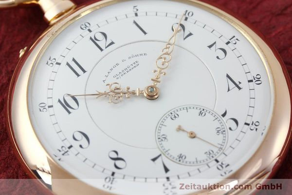 Used luxury watch A. Lange & Söhne ALS Taschenuhr 18 ct red gold manual winding Kal. 45  | 151247 02