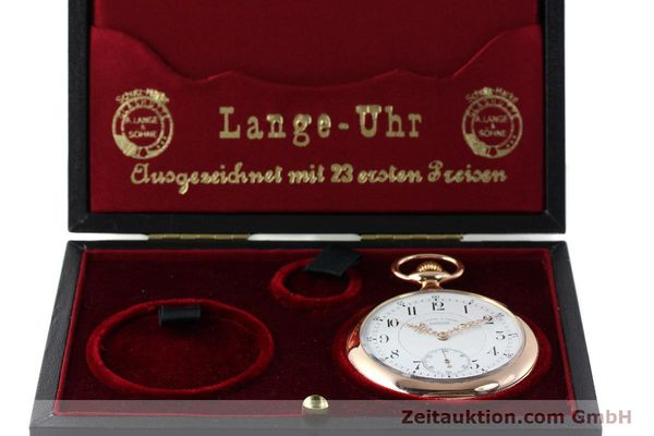 Used luxury watch A. Lange & Söhne ALS Taschenuhr 18 ct red gold manual winding Kal. 45  | 151247 07
