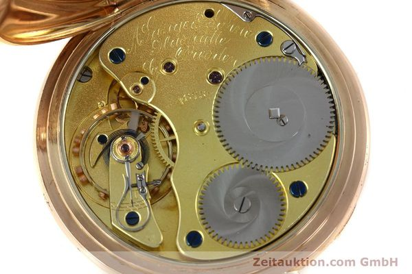 Used luxury watch A. Lange & Söhne ALS Taschenuhr 18 ct red gold manual winding Kal. 45  | 151247 10