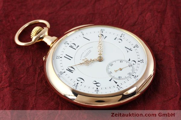 Used luxury watch A. Lange & Söhne ALS Taschenuhr 18 ct red gold manual winding Kal. 45  | 151247 16