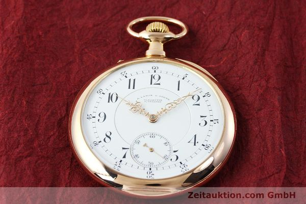 Used luxury watch A. Lange & Söhne ALS Taschenuhr 18 ct red gold manual winding Kal. 45  | 151247 17