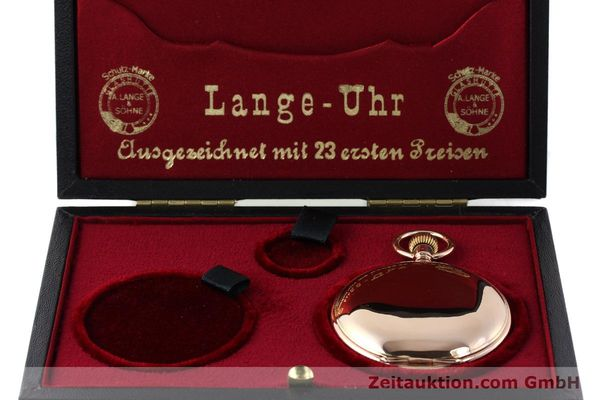 Used luxury watch A. Lange & Söhne DUF 14 ct red gold manual winding Kal. 41    151248 07
