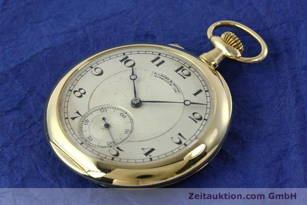 Used luxury watch A. Lange & Söhne ALS Taschenuhr 18 ct gold manual winding Kal. 41  | 151249 01