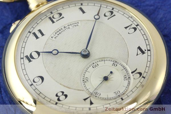 Used luxury watch A. Lange & Söhne ALS Taschenuhr 18 ct gold manual winding Kal. 41  | 151249 02
