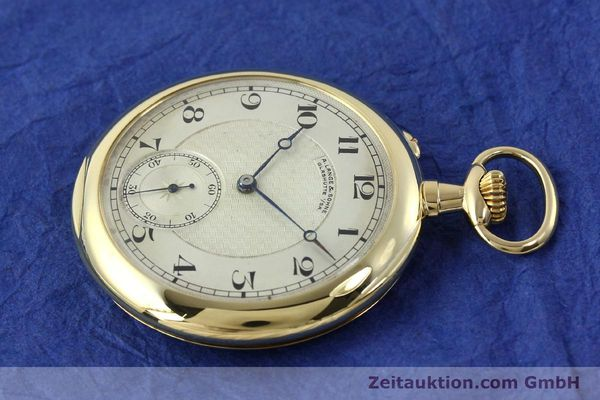 Used luxury watch A. Lange & Söhne ALS Taschenuhr 18 ct gold manual winding Kal. 41  | 151249 03