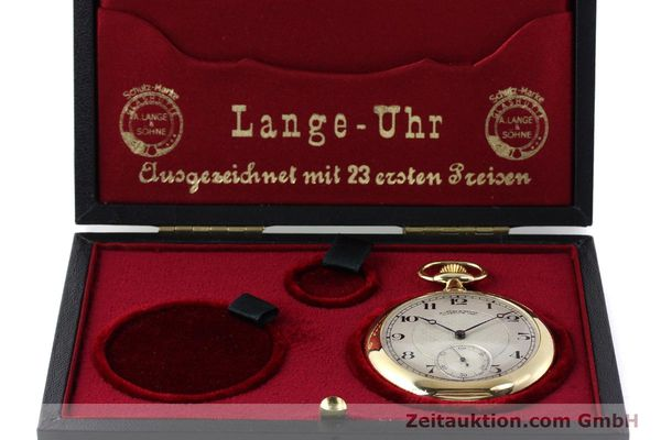 Used luxury watch A. Lange & Söhne ALS Taschenuhr 18 ct gold manual winding Kal. 41  | 151249 07