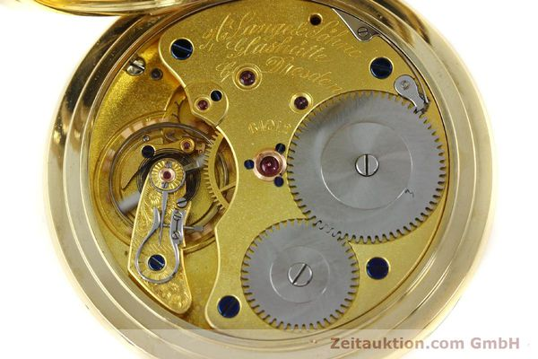 Used luxury watch A. Lange & Söhne ALS Taschenuhr 18 ct gold manual winding Kal. 41  | 151249 10