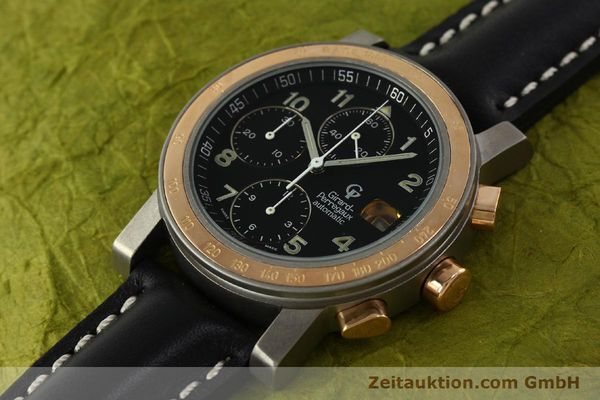 Used luxury watch Girard Perregaux 7000 chronograph titanium / gold automatic Kal. 8000-164 Ref. 7000  | 151251 01