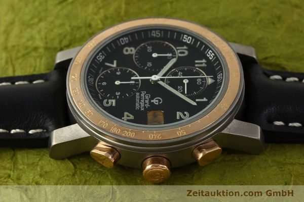 Used luxury watch Girard Perregaux 7000 chronograph titanium / gold automatic Kal. 8000-164 Ref. 7000  | 151251 05