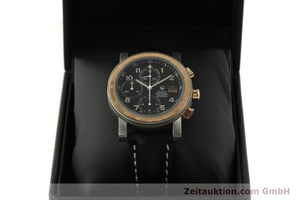 Used luxury watch Girard Perregaux 7000 chronograph titanium / gold automatic Kal. 8000-164 Ref. 7000  | 151251 07