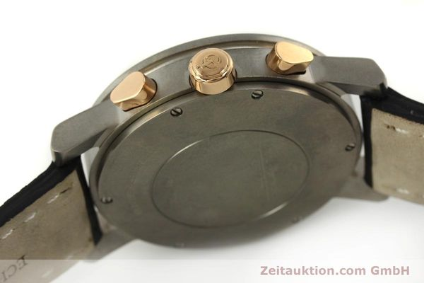 Used luxury watch Girard Perregaux 7000 chronograph titanium / gold automatic Kal. 8000-164 Ref. 7000  | 151251 08