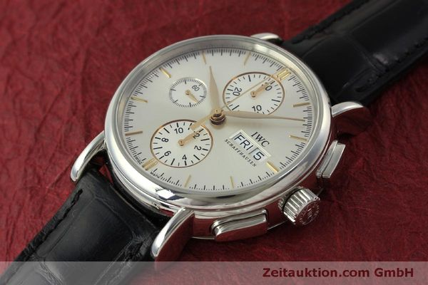 Used luxury watch IWC Portofino chronograph steel automatic Kal. 79320 Ref. 3783  | 151255 01