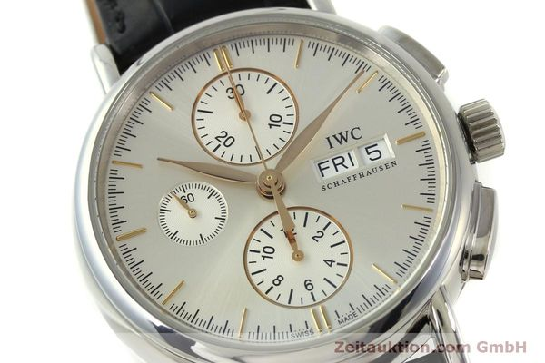 Used luxury watch IWC Portofino chronograph steel automatic Kal. 79320 Ref. 3783  | 151255 02