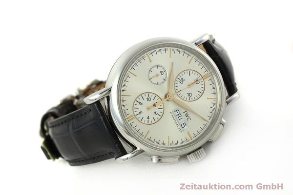 Used luxury watch IWC Portofino chronograph steel automatic Kal. 79320 Ref. 3783  | 151255 03