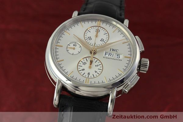 Used luxury watch IWC Portofino chronograph steel automatic Kal. 79320 Ref. 3783  | 151255 04
