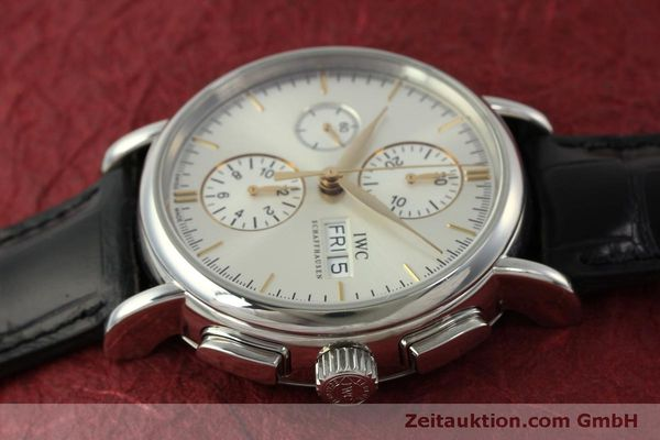 Used luxury watch IWC Portofino chronograph steel automatic Kal. 79320 Ref. 3783  | 151255 05