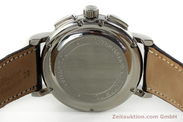 Used luxury watch IWC Portofino chronograph steel automatic Kal. 79320 Ref. 3783  | 151255 09