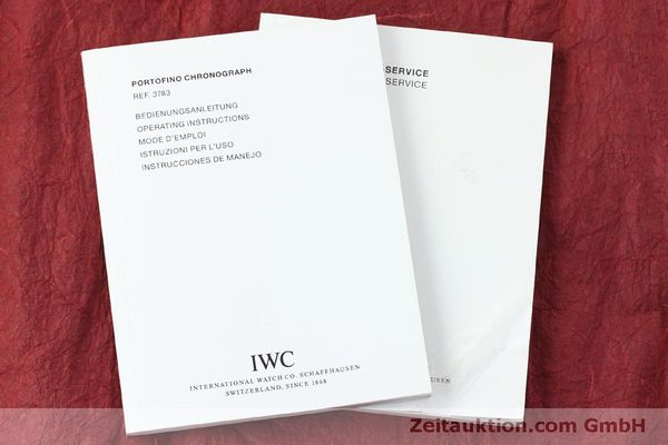Used luxury watch IWC Portofino chronograph steel automatic Kal. 79320 Ref. 3783  | 151255 14