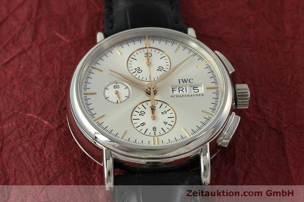 Used luxury watch IWC Portofino chronograph steel automatic Kal. 79320 Ref. 3783  | 151255 18