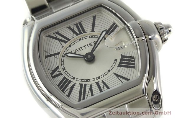 Used luxury watch Cartier Roadster steel quartz Kal. 688  | 151265 02