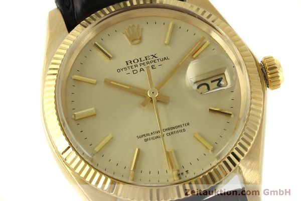 Used luxury watch Rolex Date 18 ct gold automatic Kal. 1570 Ref. 1503  | 151268 02