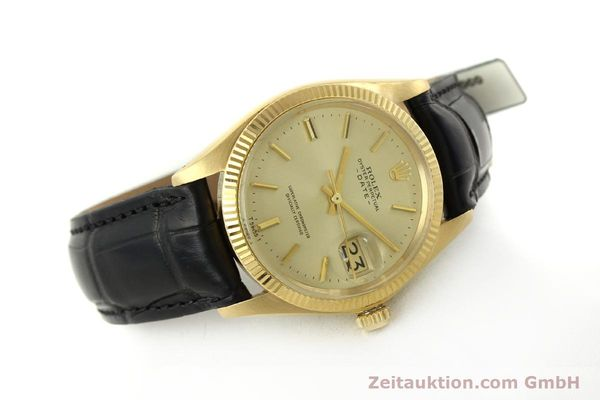 Used luxury watch Rolex Date 18 ct gold automatic Kal. 1570 Ref. 1503  | 151268 03