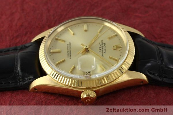 Used luxury watch Rolex Date 18 ct gold automatic Kal. 1570 Ref. 1503  | 151268 05