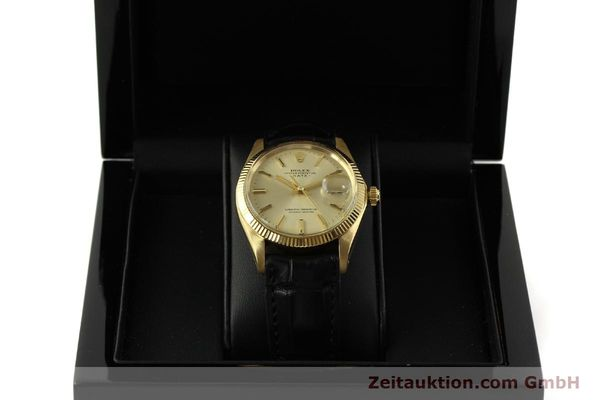 Used luxury watch Rolex Date 18 ct gold automatic Kal. 1570 Ref. 1503  | 151268 07