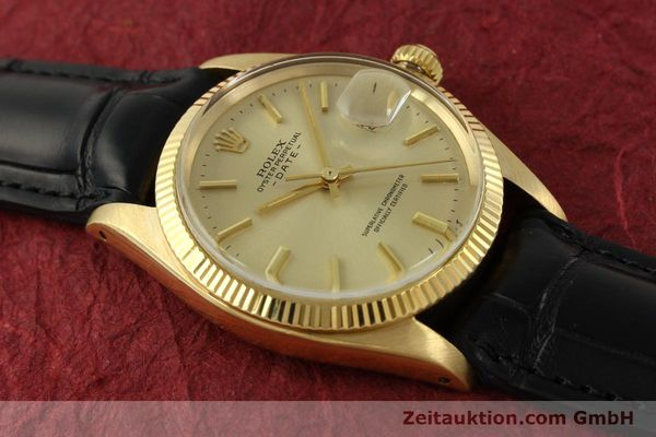 Used luxury watch Rolex Date 18 ct gold automatic Kal. 1570 Ref. 1503  | 151268 15
