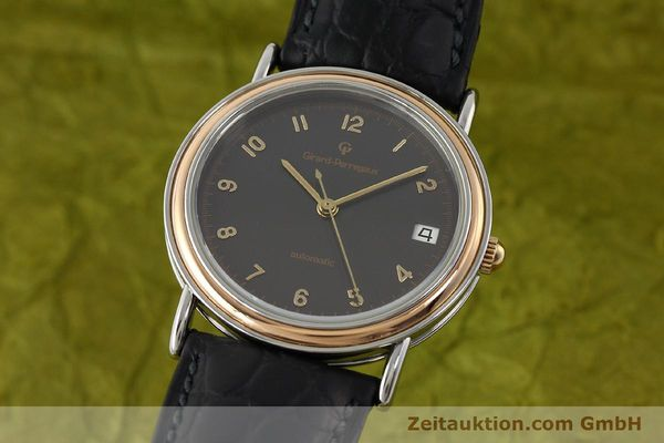 Used luxury watch Girard Perregaux * steel / gold automatic Kal. 215-863 Ref. V2261  | 151270 04