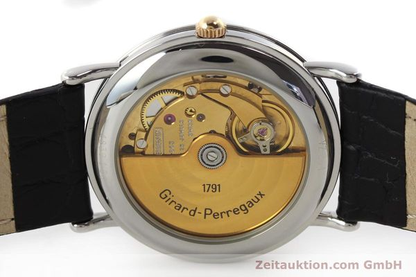Used luxury watch Girard Perregaux * steel / gold automatic Kal. 215-863 Ref. V2261  | 151270 09