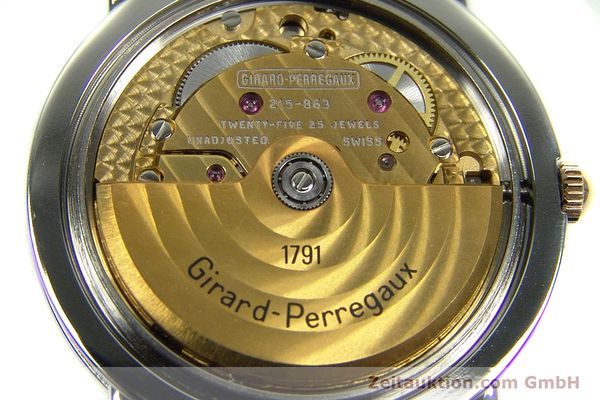 Used luxury watch Girard Perregaux * steel / gold automatic Kal. 215-863 Ref. V2261  | 151270 10