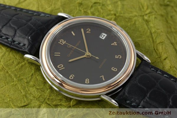 Used luxury watch Girard Perregaux * steel / gold automatic Kal. 215-863 Ref. V2261  | 151270 14