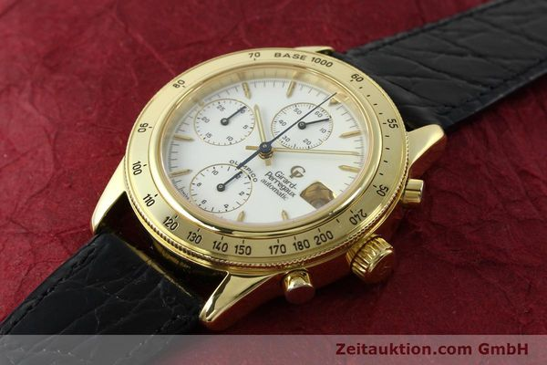 Used luxury watch Girard Perregaux Olimpico 1992 chronograph 18 ct gold automatic Kal. GP8000-214 Ref. 1030  | 151271 01