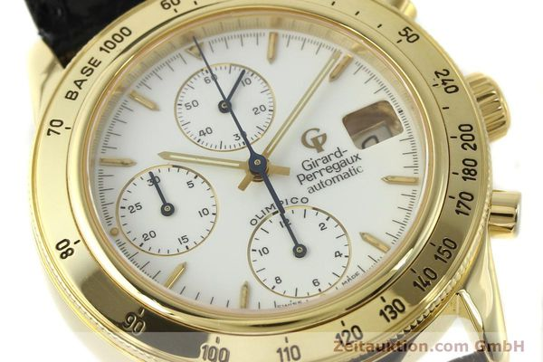 Used luxury watch Girard Perregaux Olimpico 1992 chronograph 18 ct gold automatic Kal. GP8000-214 Ref. 1030  | 151271 02