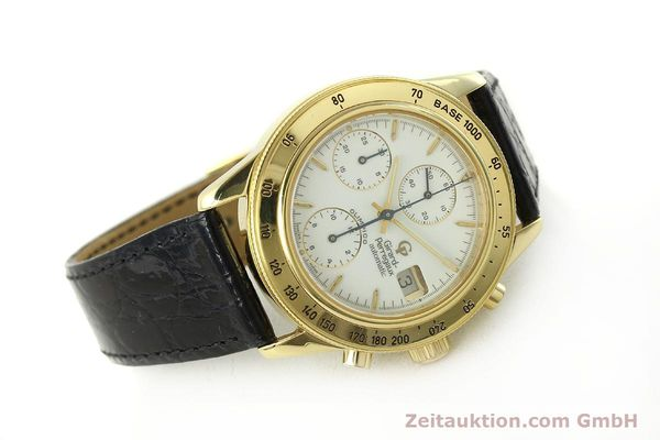 Used luxury watch Girard Perregaux Olimpico 1992 chronograph 18 ct gold automatic Kal. GP8000-214 Ref. 1030  | 151271 03
