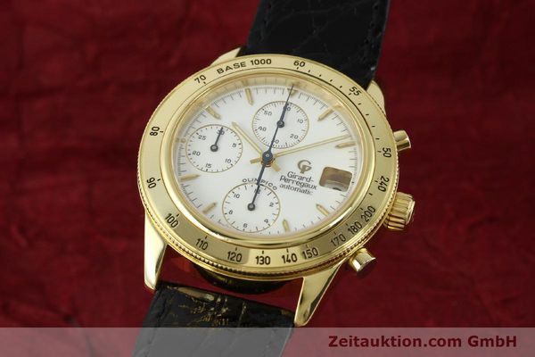 Used luxury watch Girard Perregaux Olimpico 1992 chronograph 18 ct gold automatic Kal. GP8000-214 Ref. 1030  | 151271 04