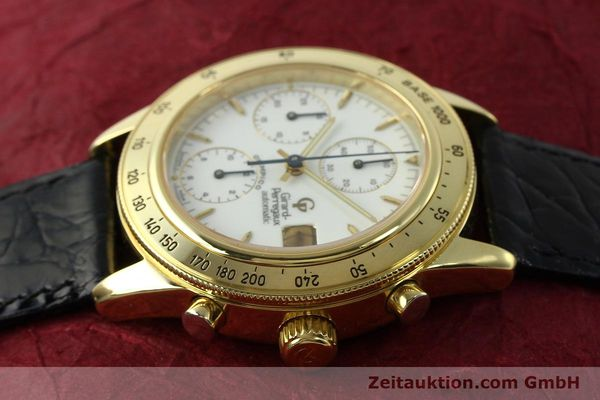 Used luxury watch Girard Perregaux Olimpico 1992 chronograph 18 ct gold automatic Kal. GP8000-214 Ref. 1030  | 151271 05