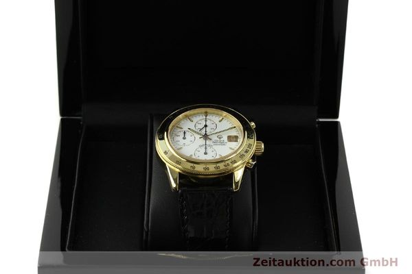 Used luxury watch Girard Perregaux Olimpico 1992 chronograph 18 ct gold automatic Kal. GP8000-214 Ref. 1030  | 151271 07