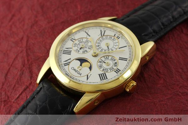 Used luxury watch Omega Louis Brandt 18 ct gold automatic Kal. 1116  | 151273 01