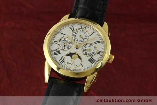 Used luxury watch Omega Louis Brandt 18 ct gold automatic Kal. 1116  | 151273 04