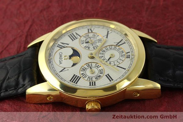 Used luxury watch Omega Louis Brandt 18 ct gold automatic Kal. 1116  | 151273 05