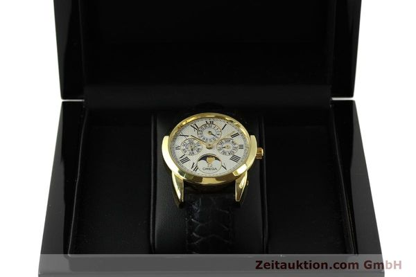 Used luxury watch Omega Louis Brandt 18 ct gold automatic Kal. 1116  | 151273 07