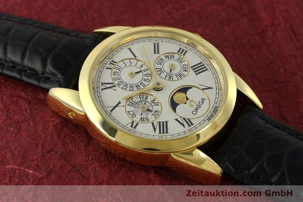 Used luxury watch Omega Louis Brandt 18 ct gold automatic Kal. 1116  | 151273 14