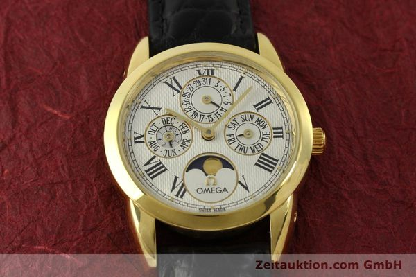 Used luxury watch Omega Louis Brandt 18 ct gold automatic Kal. 1116  | 151273 15