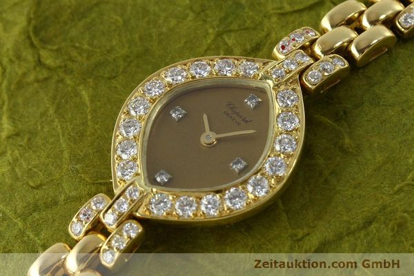montre de luxe d occasion Chopard * or 18 ct quartz Kal. ETA 201.001  | 151276 01