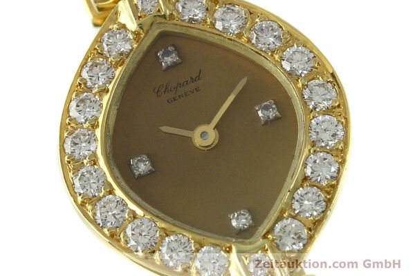 montre de luxe d occasion Chopard * or 18 ct quartz Kal. ETA 201.001  | 151276 02