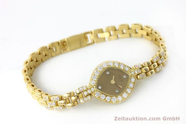 montre de luxe d occasion Chopard * or 18 ct quartz Kal. ETA 201.001  | 151276 03